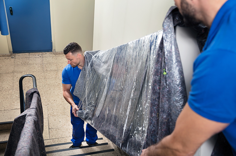 Movers Bring More Than Manpower When Moving Furniture Upstairs