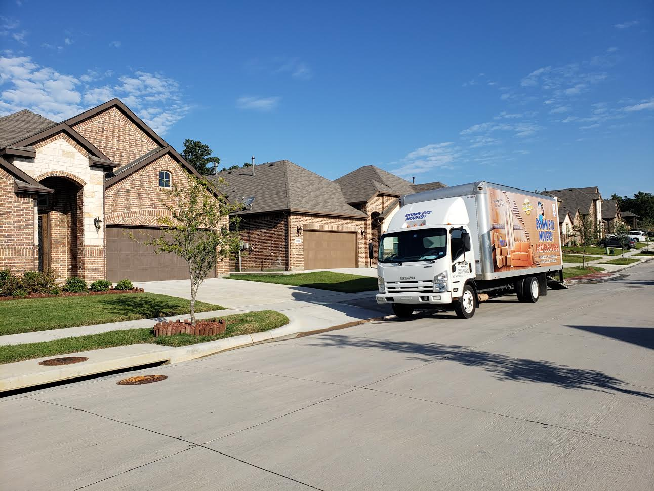 Long Distance Moving Brown Box Movers