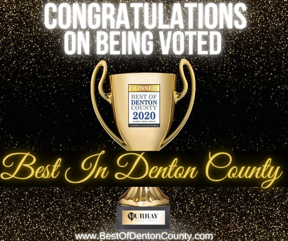 Brown Box Movers Voted Best of Denton County 2020